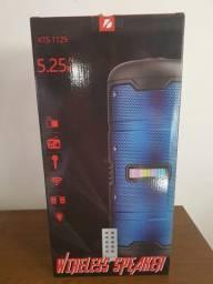 Caixa som portátil modelo kts-1129