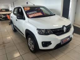 Renault Kwid Zen 1.0 2020 (100% do carro no cartão 6x sem juros)