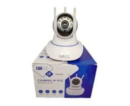 Câmera Ip WiFi 3 Antenas Luatek LKW-1310V aplicativo V380 Pro
