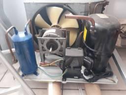 kit motor 2hp unidade condensadora