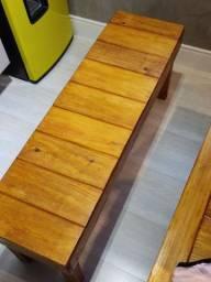 Oportunidade: Banco em madeira novo