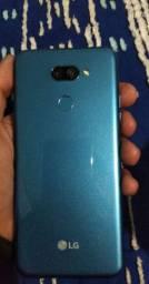 Lg k40s azul metálico