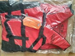 Título do anúncio: colete salva vidas NOVO marca  ATIVA até 90kg