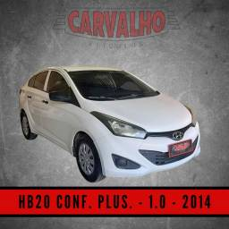 Título do anúncio: Hyundai HB20S C.Plus C.Style1.0 Flex 12V Mec. 4P - 2014