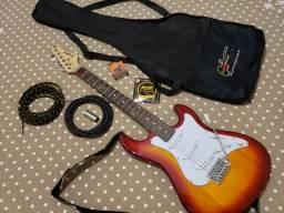 Guitarra Strinberg Sts100 com barra de distorção