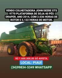 Título do anúncio: COLHEITADEIRA