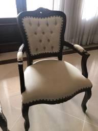 Cadeira estilo Luís XV