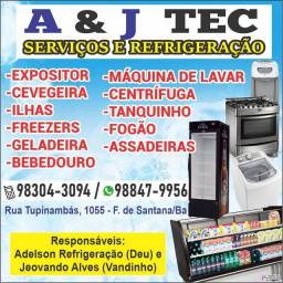 Título do anúncio: CONCERTOS E VENDAS DE GELADEIRA, BEBEDOURO, FRIZZER, ESPÓSITO,  ILHAS,  FOGÃO > ETC