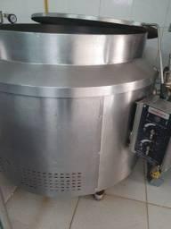 Caldeira 300 kg Mobinox a gas