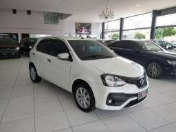 Toyota etios hatch 2019 1.5 x plus 16v flex 4p automÁtico
