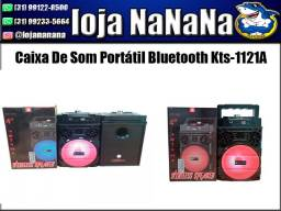 Caixa De Som Portátil Bluetooth Kts-1121A