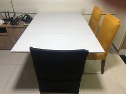 Mesa de Jantar Off white semi nova
