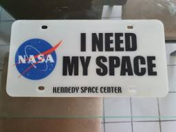 Placa decorativa Nasa