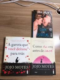 Vendo 3 livros de romance por 40,00.