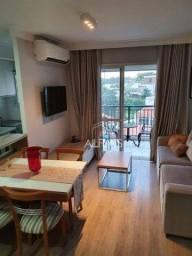 Título do anúncio: Apartamento Duplex com 1 dormitório, 83 m² - venda por R$ 980.000 ou aluguel no Morumbi -