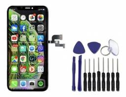 Título do anúncio: Tela Display Touch Frontal Lcd iPhone X 10 Oled Premium + Kit