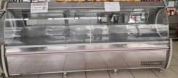 Título do anúncio: Balcão Expositor Frigorífico Premium-  Sem Depósito GATP-300AI Aço Inox 220V Gelopar