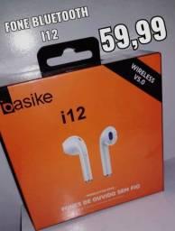 Fone de ouvido sem fio i12