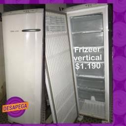 Freezer vertiical Electrolux