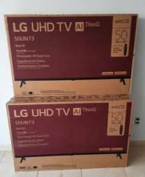 """Título do anúncio: Smart TV 50""""LG 50UN7300 UHD 4K Wifi Bluetooth Hdr Inteligência Artificial alexa"""