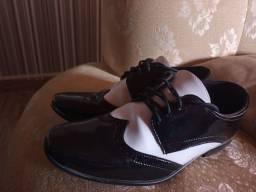 Título do anúncio: Sapato social Oxford bicolor