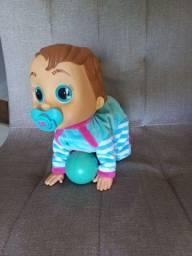 Título do anúncio: Vendo Boneca Boneca - Baby Wow - Engatinha - Multikids