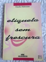 Livro 'Etiqueta Sem Frescura'