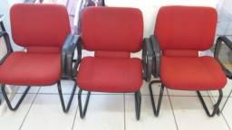Título do anúncio: Cadeira de escritório vermelha