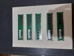 Memória ddr2 2gb 800mhz com Garantia