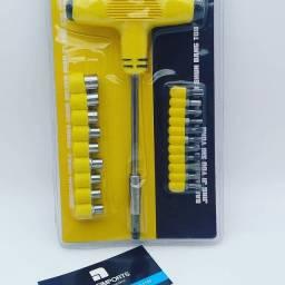 Kit chave socket T //entregamos grátis