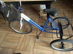 Bicicleta triciclo conservada