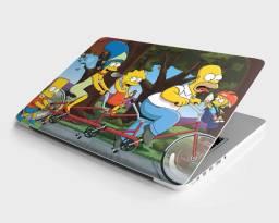 Skin Adesivo para Notebook - Simpsons