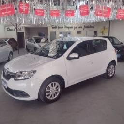 Título do anúncio: Renault Sandero 1.0 expression 2017 completo 40 milkm 2 dono