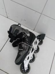 Patins Rollerblade spark 80 alu rolamento abec7 R$300