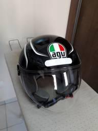 (LOTE) capacete AGV + Capacete Axxis + jaquetas