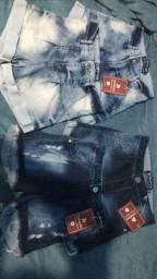 4 shorts jeans novos