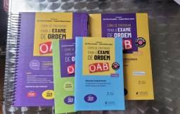 Título do anúncio: kit 4 livros como se preparar para o exame da ordem vício de uma estudante 2021