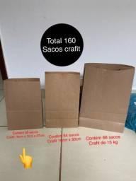 Título do anúncio: Vendo 160 sacos crafit