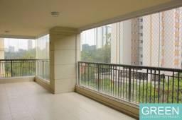 Título do anúncio: Lindo Apartamento de Luxo para Locação em Santo Amaro! 310m², 4 suítes, 3 salas, tv, proje