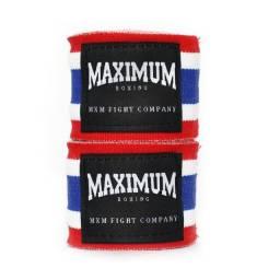 Título do anúncio: Bandagem 5 metros Bandeira Tailândia Maximum Muay Thai Boxe Kickboxing