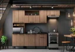 Título do anúncio: Cozinha Acácia 100% MDF Itatiaia - Entrega Grátis p/ Fortaleza