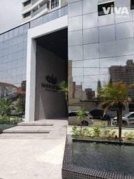 Título do anúncio: Apartamento com 2 dormitórios para alugar, 77 m² por R$ 2.800/mês - Centro - Itajaí/SC