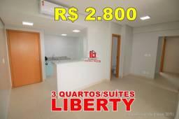 Aluguel Apartamento 5° No Liberty Residencial Com 03 Quartos