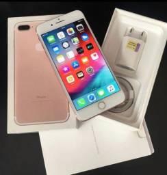 Título do anúncio: iPhone 7 plus Rose 128 gb