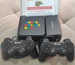 Título do anúncio: Vídeo Game super arcade box / jogos retro.