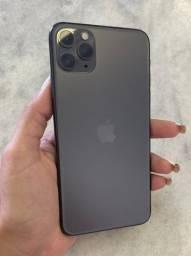 Título do anúncio: Iphone 11 pro max 64gb garantia Apple até 7/11/21/ aceito troca no 7 ou superior + volta.