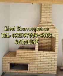 Churrasqueira Colonial / Grelhas / Impermeabilização
