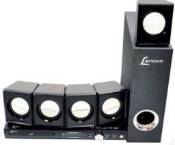 Título do anúncio: Home Theater Lenoxx 270 W Rms Karaoke