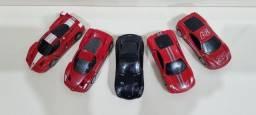Miniatura Shell V-power Coleção Ferrari  1:36  05 Unidades