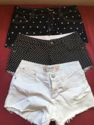 Combo de shorts